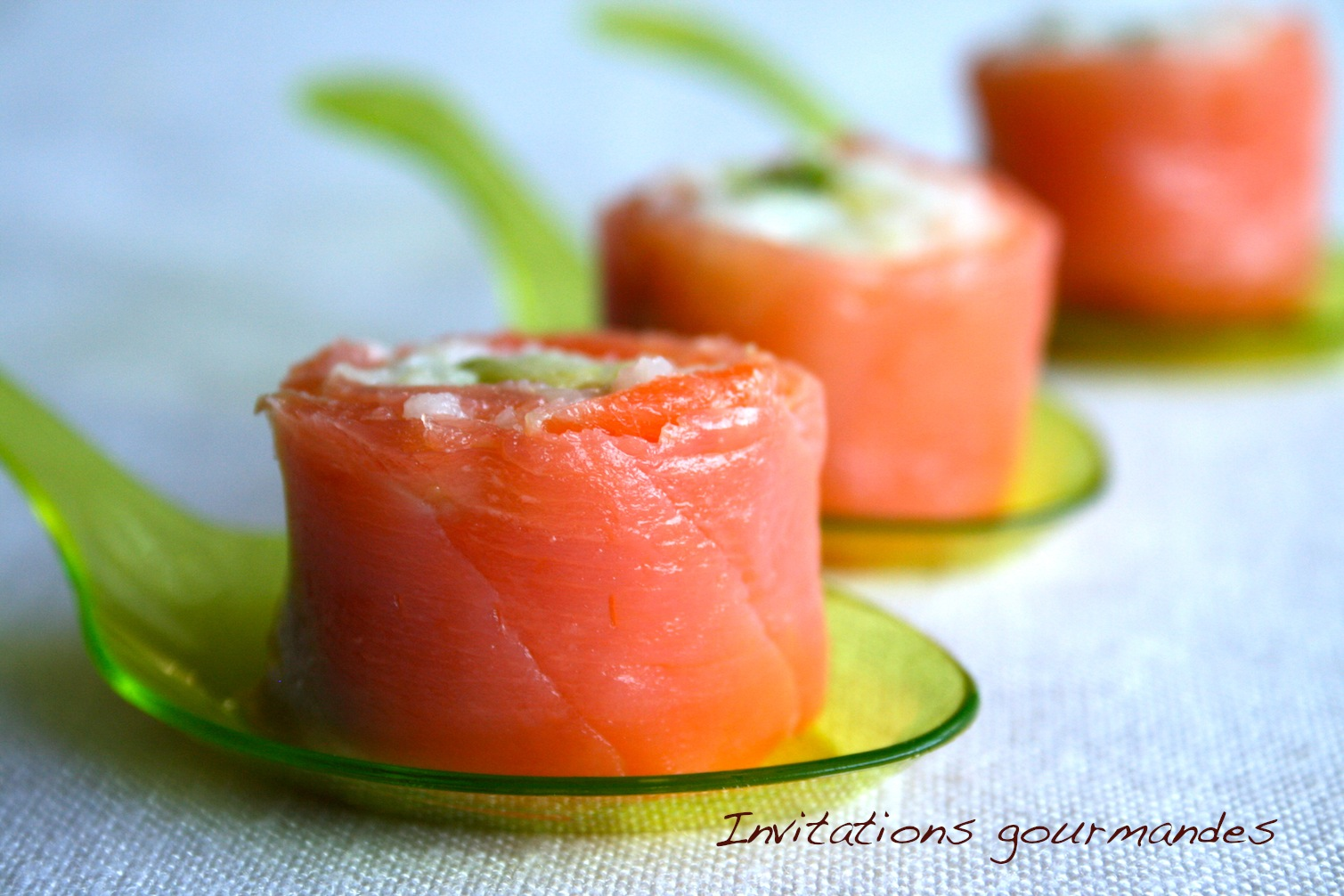 Makis De Saumon Fume A L Avocat Invitations Gourmandes
