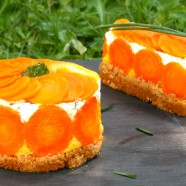 CHEESECAKE SALÉ AUX CAROTTES