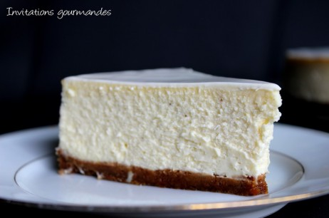 Cheesecake New-Yorkais