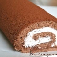 TIRAMISU CHOCOLATE ROLL CAKE OU LE GTEAU ROUL FAON TIRAMISU AU CHOCOLAT