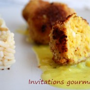 Boulettes de poisson mangue-curry